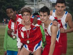 Alessio Raffaelli, Alessandro Mozzoni, Abdourahamane Diallo, Federico Vitali