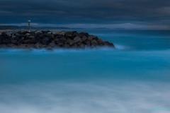 Brunswick Heads Landscape (ian_underthesea) Tags: aqua waves neutraldensity brunswickheads seascape moody darkclouds mist nsw eastcoast australia coastal rocks 6stopfilter leelittlestopper longexposure morning turquoise landscape