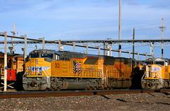 Tier 4 in KC (Jeff Carlson_82) Tags: up uprr 3021 emd tier4 tieriv sd70acet4 neffyard dieselshop unionpacific kc mo kansascity missouri train railroad railfan railway