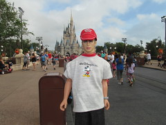 Lynsey Lloyd at Magic Kingdom (larry_boy17) Tags: barbie ken doll dolls 16scale 16 scale action actionfigure figure figures outside outdoor outdoors magickingdom magic kingdom disney world disneyworld themepark theme park florida fl vacation trip getaway male model malemodel dsi jamesdean james dean clouds shorts mickeymouse mickey mouse hat tshirt castle