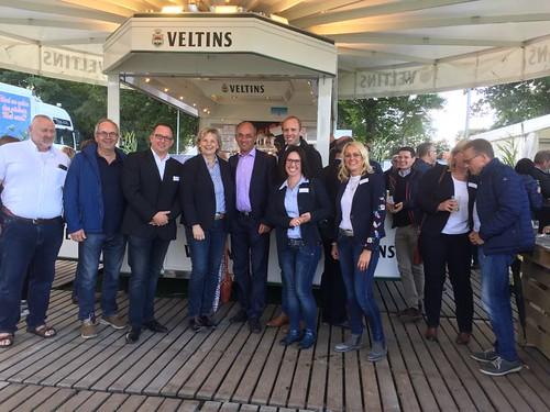 Eröffnung des Ellernfestes in Rastede mit der örtlichen SPD.