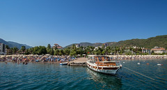 Marmaris, Turkey, 2018. . . (CWhatPhotos) Tags: cwhatphotos boat alone blue sea beach people olympus digital camera photographs photograph pics pictures pic picture image images foto fotos photography artistic that have which with contain artistc seaside resort fun hol holiday september 2018 turkey holidays marmaris turkish various flickr