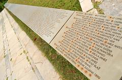 Kampor Concentration Camp [Kampor - 25 August 2018] (Doc. Ing.) Tags: 2018 rab croatia otokrab rabisland happyisland kvarner kvarnergulf summer mediterraneansea adriatic kampor concentrationcamp metal iron detalhesemferro irondetails monument memory neverforget nikond5100