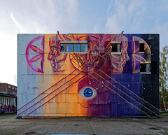 Graffiti 2017 in Magdeburg (pharoahsax) Tags: graffiti kunst objekte de magdeburg sachsenanhalt germany pmbvw deutschland art streetart street urban urbanart paint graff wall artist legal mural painter painting peinture spraycan spray writer writing artwork tag tags worldgetcolors world get colors