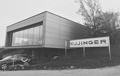 Hillinger (Gabor Sandor) Tags: architecture hillinger austria outdoor blackandwhite building minimal trespa gray nosky hill weincellar restaurant