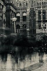 black fog (claudia 222) Tags: amsterdam people black noir noctilux 50mm