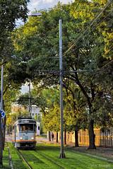 Tatra T4R - 3361 - 47 - 21.09.2018 (VictorSZi) Tags: romania bucharest bucuresti transport tram tramvai ratb stb autumn toamna green september septembrie nikon nikond3100 tatra tatrat4r militari