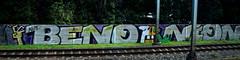 Trackside graffiti (wojofoto) Tags: graffiti streetart railway spoor spoorweg trackside nederland netherland holland wojofoto wolfgangjosten benoi benoit