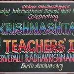 01 Janmashtami and Teacher's Day Celebration