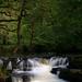 Waterfall near Pontneddfechan .