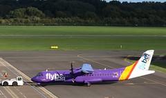 G-ISLI FlyBe ATr72 SOU push back 210918 (kitmasterbloke) Tags: sou southampton aircraft aviation airliner transport hampshire outdoor