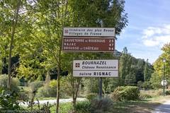 Belcastel, France (doublejeopardy) Tags: averyron beauxvilladedefrance belcastel france village colombiès aveyron fr