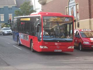 Go North East 5304 (NK08 CHL). Eldon Square Bus Station, Newcastle