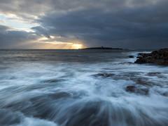 Breaking Through (Seanie2322) Tags: olympus em1 mk2 ireland coast autumn summer golden hour sunset moody