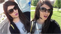 From the past year (Georgia-98) Tags: trans genderqueer genderfluid bigender transgender woman girl girly crossdresser bra skirt tights heels highheels makeup