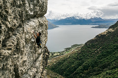 The Prophecy (gomezthecosmonaut) Tags: jamesgunn routeclimbing sonyrx1rii wyecreek climbing theprophecy rockclimbing