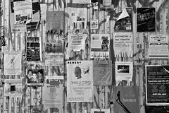 Wall ads in Bushwick (cataldo.gerald) Tags: noiretblanc mur rue blackandwhite wallads ads street wall