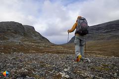 Entering the amazing Storådörren Valley (HendrikMorkel) Tags: sweden vålådalen åre gregoryoptic48 lightweightbackpack backpacking backpack gregory optic48backpack