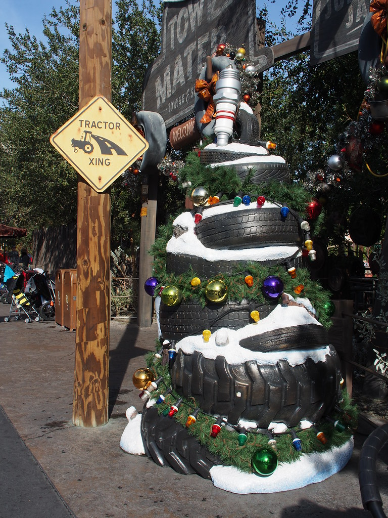 Disney Cars Christmas Tree.The World S Most Recently Posted Photos Of Disney And Tires