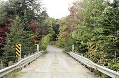 Bridge over the Tasso Lake Channel (Bill Smith1) Tags: billsmithsphotography heyfsc lomo400c41 muskoka nlp2018 olympusom2n zuikomc50f18lens believeinfilm