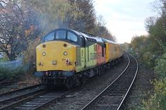 37116 IMG_5453 (thunderingpikachu) Tags: class 37 37254 37116 colas rail test train network robin hood line mansfield woodhouse