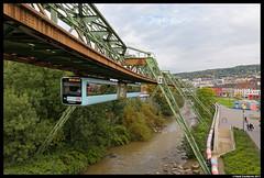 WSW  5, Wuppertal 28-09-2017 (Henk Zwoferink) Tags: wuppertal nordrheinwestfalen duitsland de wsw henk zwoferink schwebebahn wuppertaler stadtwerke