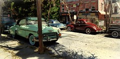Back to the Future 2 (gpholtz) Tags: diorama miniatures 118 diecast 1950 chevrolet belair
