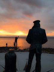 Wanderer (sebpreudhomme) Tags: vermont burlington lake champlain sunset sun nikon d3300 colors