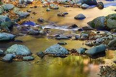 autumn mirror (Plamen Troshev) Tags: reflection waterfall sunrise sun sunset river leafs adventure autumn amazing abstract new explore