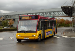 Go North East 713 WK59CWY (aptyldsley) Tags: gonortheast metrocentre plymouthcitybus westerngreyhound optare solo