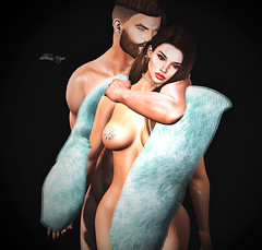 my man .. my love,I am yours (dolceluna_myoo Photographer) Tags: portrait couple love stole mesh avatar maitreya bento genus head sensual blogger photo pictures shadows