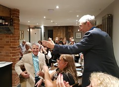 2018 0922 635 (SGS8+) Jeremy Vine; Appledore; The Royal George; ABF Friends' VIP Dinner (Lucy Melford) Tags: samsunggalaxys8 appledore book festival friends vip dinner jeremy vine