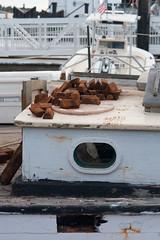Unloading ballast (desert11sailor) Tags: sylvinawbeal schooner sailboat harbor redsail haroldburnham gloucester