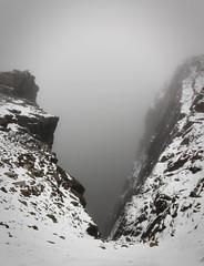 Deep (Per Ingmar) Tags: ben nevis scotland highland snow cold mountains mistymountains
