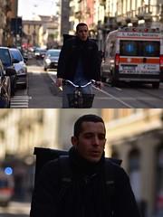 [La Mia Città][Pedala] (Urca) Tags: milano italia 2018 bicicletta pedalare ciclista ritrattostradale portrait dittico bike bicycle nikondigitale scéta 115915