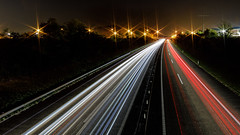 Highway Star(s) (BigOllie Pictures) Tags: landscape autumn dark freeway highway lights longtimeexposure motorway night switzerland eiken kantonaargau schweiz ch