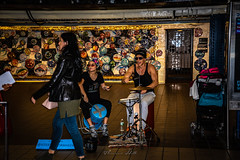 New York subway (Theresa Hall (teniche)) Tags: australia canberra newyork newyorksubway nikkor2485 nikond750 october2018 teniche theresahall theresahalldalliessi people peopleeverywhere subway train underground