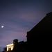 Cresent Moon Over the Husk