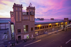 Cherbourg Cruise Terminal at Sunset (SimonNicholls27) Tags: royal caribbean independence seas cherbourg cruise terminal france historic sunset
