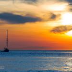 Sunset with yachts near Phuket island, Thailand                XOKA2001s thumbnail