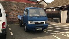 Piaggio Porter (Sam Tait) Tags: diesel 2001 blue truck up pick mini midi small porter piaggio