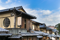 Japanese Houses (Synghan) Tags: japan japanese house houses architecture buildings builtstructure roof eaves rooftop window clouds sky kyoto starbucks signboard board tranquility peace photography horizontal outdoor colourimage fragility freshness nopeople foregroundfocus adjustment interesting awe wonder sideview travel antique oldstyle tradition traditional artificial manmade commerce shop store canon eos80d 80d sigma 1770mm f284 dc macro lens 일본 교토 스타벅스 집 주택