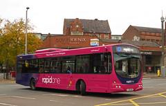 Trent Barton 726 (SRB Photography Edinburgh) Tags: trent barton buses bus road transport travel pink rapid ripley nottingham uk