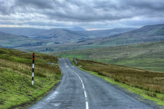 """Ingleborough From """"Buttertubs"""" Road - nr Hawes - Yorkshire Dales (D.R.Williams) Tags: yorkshire yorkshiredales ingleborough sky clouds dales"""