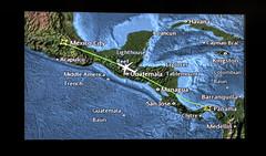 PTY-MEX (ruifo) Tags: nikon d810 nikkor afs 24120mm f4g ed vr guatemala central america centroamérica centro américa copa airlines flight between panama mexico city volando voando flying boeing b737800ng 737800 b737800 737 738 b737 b738 monitor screen map mapa vuelo antigua