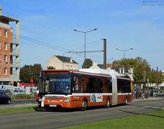 Iveco Urbanway 18 GNV n°408 (ChristopherSNCF56) Tags: le mans lemans setram reseau transport bus urbains iveco urbanway 18 gnv 408