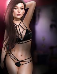 # 1111 (Vicky - https://fashionistainsl.wordpress.com/) Tags: theskinnery uber nanika tlc v kinky {limerence} hairfair