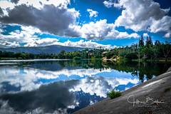 rain coming to Vasona Dam (Jeffrey Balfus (thx for 3 Million views)) Tags: clouds lake landscape saratoga california unitedstates us sonya9mirrorless sonyalpha sonyilce9 fullframe sonyfe282470gm sel2470f28gm sky water