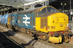 37403 3S77 (Rob390029) Tags: drs br british rail direct services class 37 37403 newcastle central railway station ncl