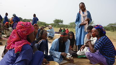 Wodaabe men... (revelinyourtime) Tags: gerewol tribe tribes africa chad tchad ciad festival dance tribal travel epic portraits people men women ceremony ritual black wodaabe sudosokai djepto